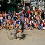 Cirque de rue in Brussel