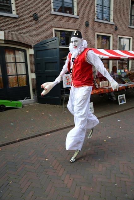 Straatfestival in Delft (NL)